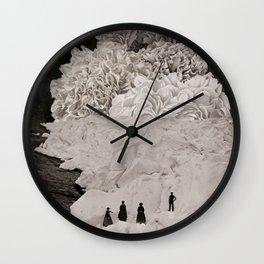 MYSTERIOUS MOUNTAIN II Wall Clock