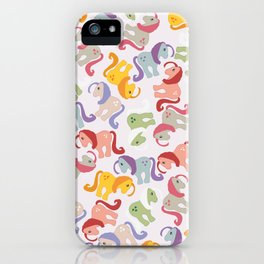 ponies invasion iPhone Case