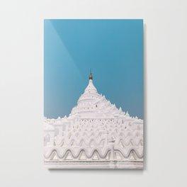 Hsinbyume Pagoda   Myanmar  Metal Print