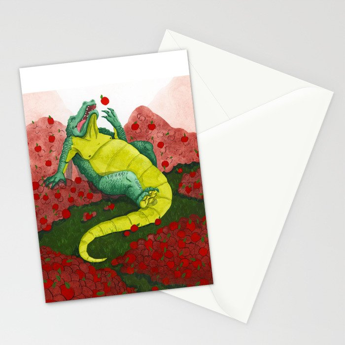 Allison's Alligator Stationery Cards