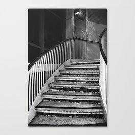 Urban stairs Canvas Print