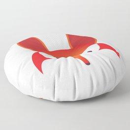 The Red Fox Floor Pillow