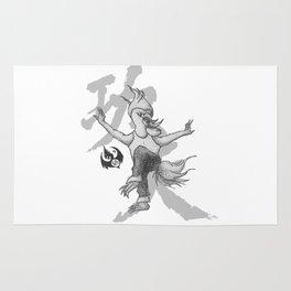 KungFu Zodiac - Rooster Rug