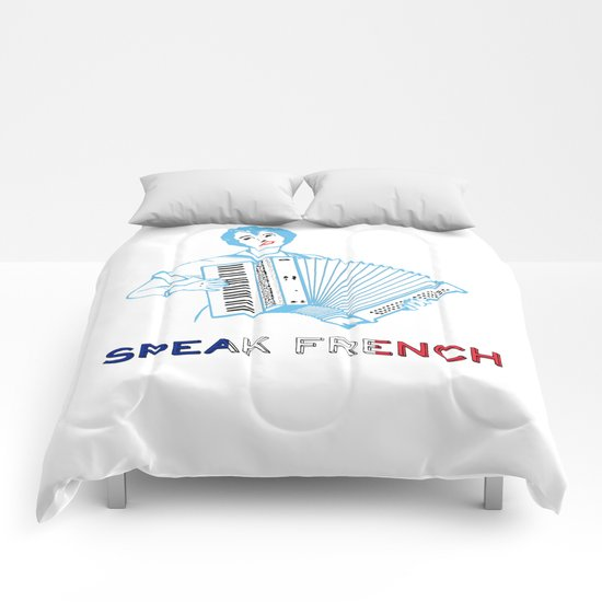 Speak French Comforters