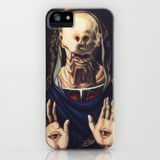 Pale Man With Crown iPhone (5, 5s) Slim Case