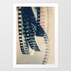 super 8 film Art Print