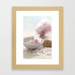 Still life for Bathroom Framed Art Print