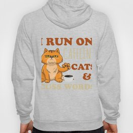 Funny Coffee Shirt For Cat Lover. Hoody