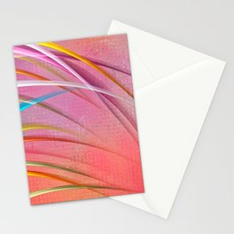 Party Streamers Stationery Cards