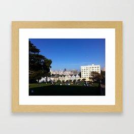 San Francisco from Alamo Square Framed Art Print