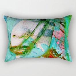 girl abstract Rectangular Pillow