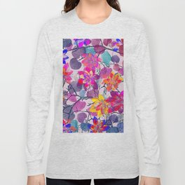 Floral abstract 96 Long Sleeve T-shirt