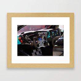 Citroën Survolt Panel Details Framed Art Print