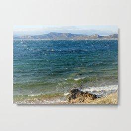 The Living Sea Metal Print