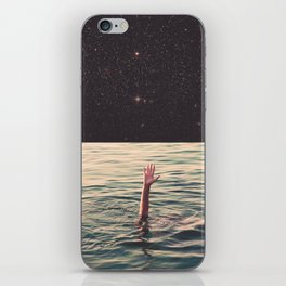 Drowned in space iPhone Skin