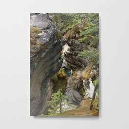 Athabasca Valley Metal Print