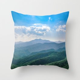 Amazing Blue-Ridge Throw Pillow