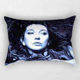 Kate Bush - The Ninth Wave - Pop Art Rectangular Pillow