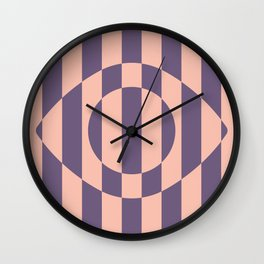 Eye Illusion Wall Clock