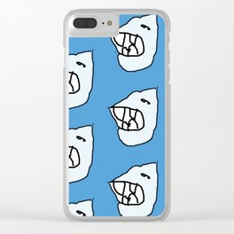 Sharksea by Si Clear iPhone Case