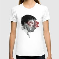 johnlock T-shirts featuring Johnlock by Cécile Pellerin