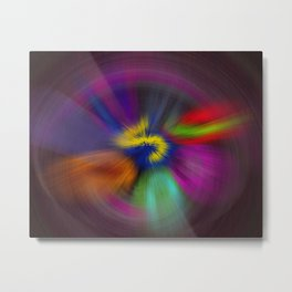 color circulo Metal Print