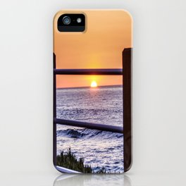 Un-Fenced ( La Jolla ) iPhone Case