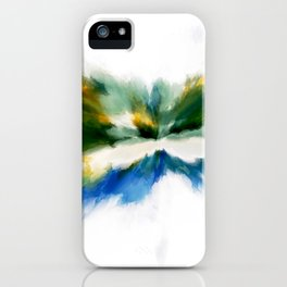Serenity Abstract iPhone Case