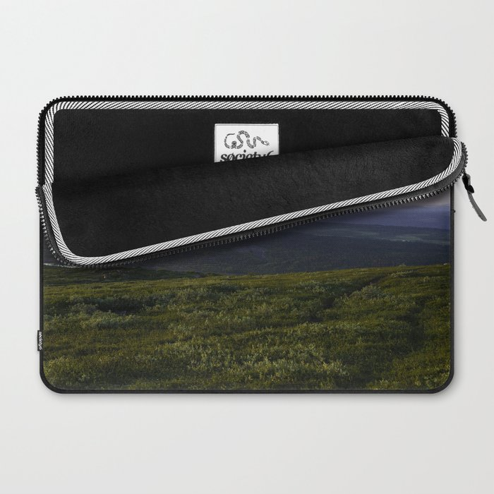 Midnight sun Laptop Sleeve