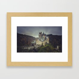 Eltz castle panoramic shot Framed Art Print