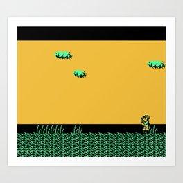 Zelda II - The Adventure of Link Art Print