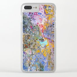 Celestial Explosion Clear iPhone Case