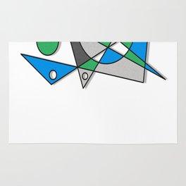 Abstract #83 Rug