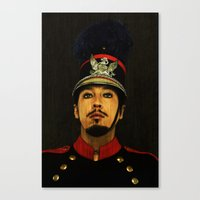 soldier Canvas Prints featuring Soldier by Jessica Beebe - Photography