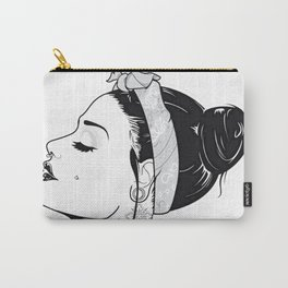 TATTOO--GIRL Carry-All Pouch