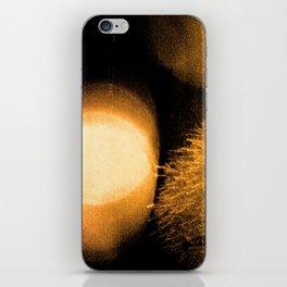 Dark Night Amber iPhone Skin
