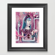 Vow of Chastity Framed Art Print