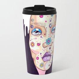 Allergic to flowers Travel Mug