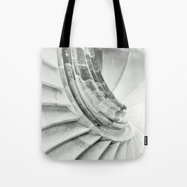 Sand stone spiral staircase 009 Tote Bag
