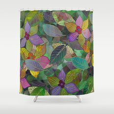 Floral Pattern 7 Shower Curtain
