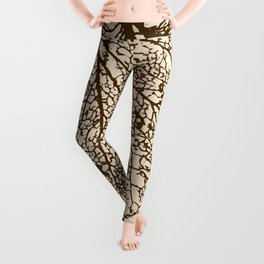 Leaf Skeleton Leggings