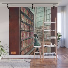 Exploring the Library Wall Mural