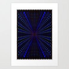 X 3 Art Print