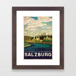 Salzburg, Austria Framed Art Print