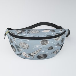 Space pattern. Fanny Pack