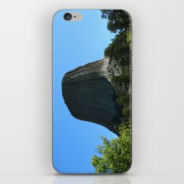 Devils Tower Rising Into The Sky iPhone Skin