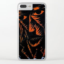Susan 3: Back in the Desert Clear iPhone Case