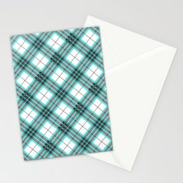 Checkered classic pattern Stationery Cards
