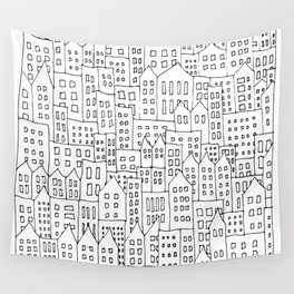 Coit City Pattern 1 Wall Tapestry