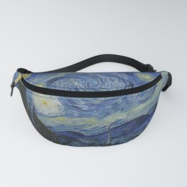 The Starry Night by Vincent van Gogh Fanny Pack
